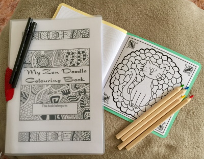 Zen Doodles By Catherine Free Download PDF To Print And Colour